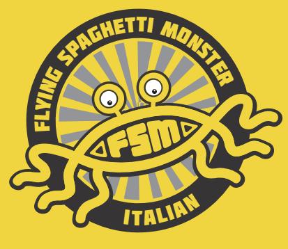 Flying Spaghetti Monster | Italian Restaurant
